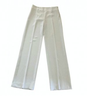 Armani Collezioni Marlene Trousers light grey polyester