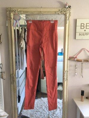 Pieces Drainpipe Trousers multicolored cotton