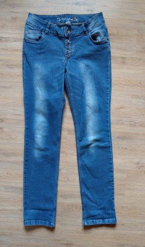 Cecilia Classics Stretch Jeans neon blue