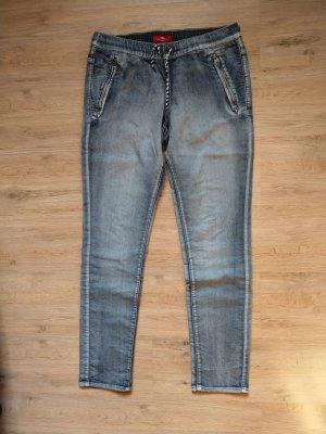 s.Oliver Jeans stretch bleu azur-gris