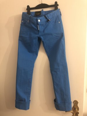 Hose Jeans Dsquared2 Kobaltblau blue 34 xs denim