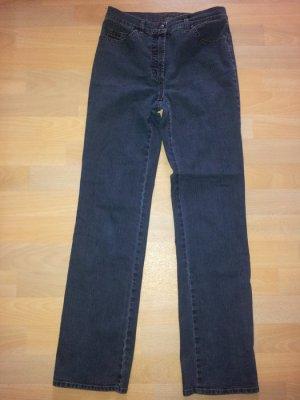 Gerry Weber Jeansy z prostymi nogawkami niebieski-ciemnoniebieski