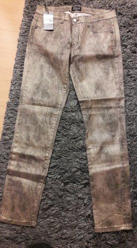 Black Stretch Jeans multicolored