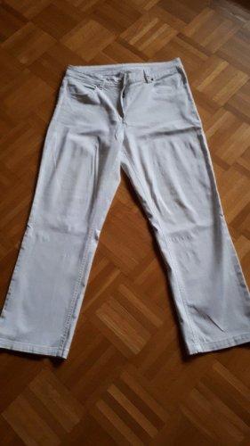 Hose, Jeans, Gr.42, weiß