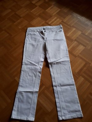 Hose, Jeans, Gr.44/L, weiß