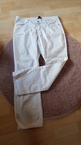 H&M BB Jeans baggy blanc