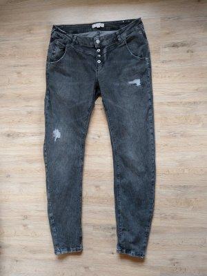 Hose Jeans grau comma
