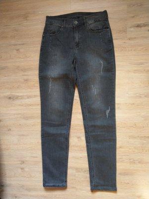 Hose Jeans grau Steinchen Anna Montana Angelika