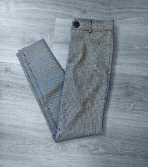 Hose jeans leggings schwarz weiß high waisted business casual