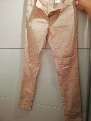 H&M Vaquero slim rosa empolvado-rosa