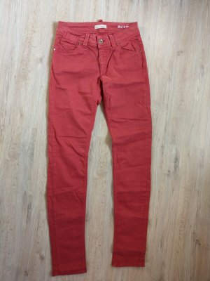 Marc O'Polo Drainpipe Trousers red