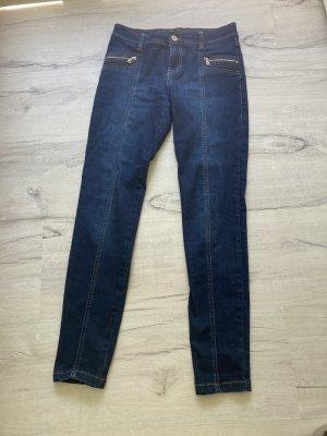 Bogner Jeans Spodnie rurki ciemnoniebieski