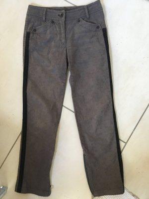 Marc Cain Five-Pocket Trousers anthracite cotton