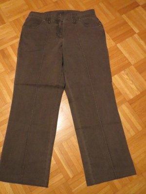 Hose, Jeanshose, Gr.44/L, taupe