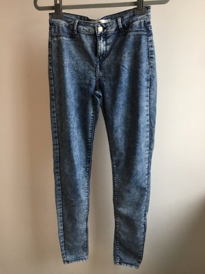 Hose jeggings Zara blau