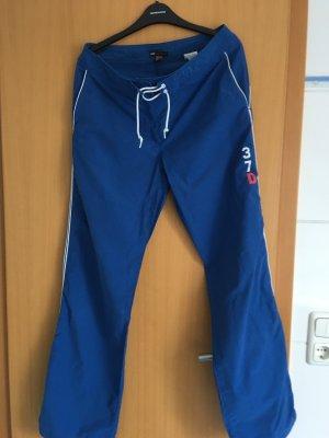 Hose Jogginghose blau