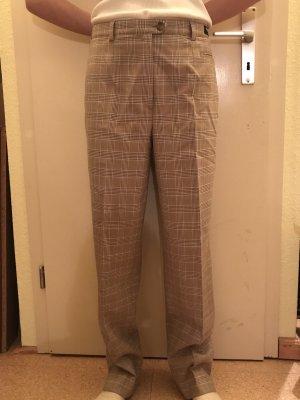 Pantalon en laine beige clair