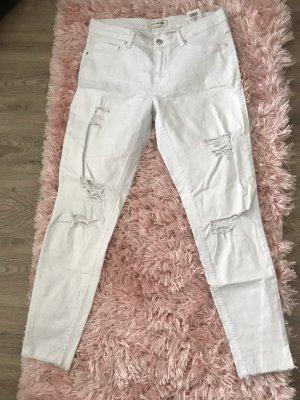 Pimkie Hoge taille broek wit