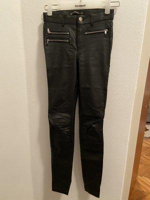 Zara Trafaluc Pantalon cigarette noir