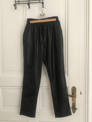 Primark Leather Trousers black