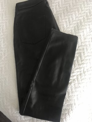 Cambio Leather Trousers dark brown