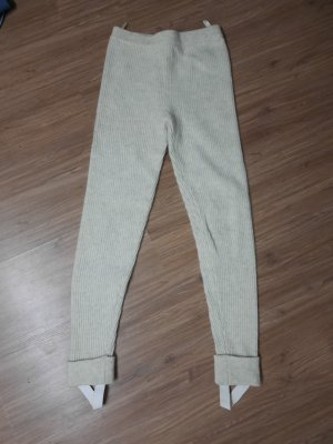 Woolen Trousers natural white