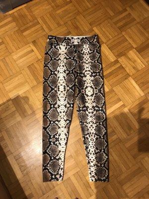 Hose / leggings in Gr.36/S von Zara in braun/ beige.