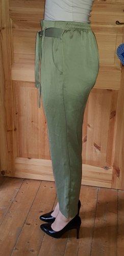 River Island High Waist Trousers khaki
