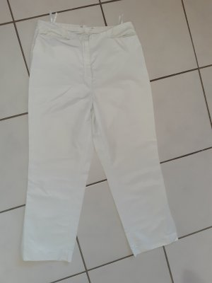 Hirsch Pantalone boyfriend bianco-bianco sporco Viscosa