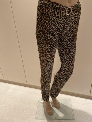 pantalón de cintura baja multicolor