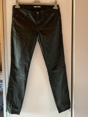 Liu jo Spodnie z pięcioma kieszeniami czarny-antracyt
