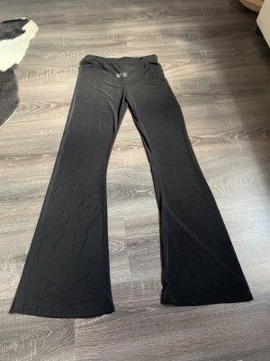Hose locker weit schwarz transparent durchsichtig neu