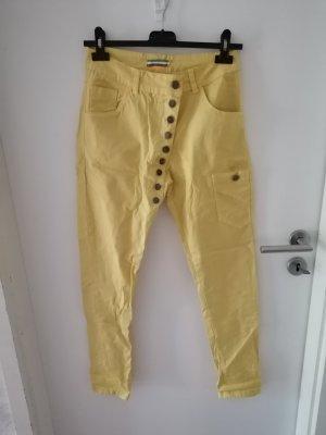 Hose Made in Italy gelb Gr. S neu