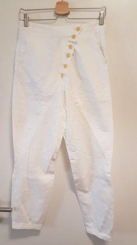 Marithé + Francois Girbaud Jersey Pants white
