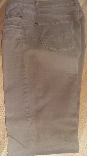 Cambio Jeans Spodnie z pięcioma kieszeniami brąz