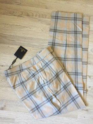 Massimo Dutti Jersey Pants multicolored cotton
