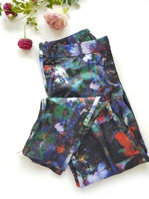 H&M Spodnie rurki Wielokolorowy