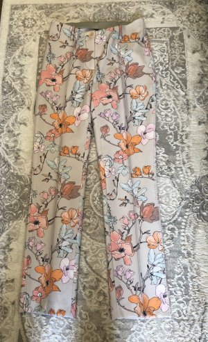 Hose mit Blumenmuster von Marc Cain
