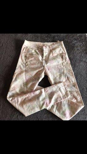 Lexxury Low-Rise Trousers cream