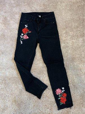 H&M Jeans boyfriend noir