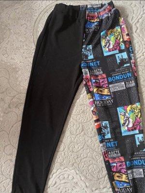 SheIn Pantalon «Baggy» noir