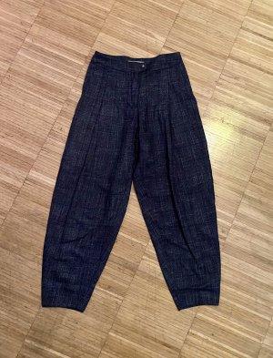 Spodnie karoty ciemnoniebieski