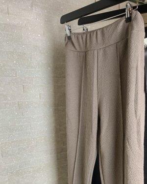 Pantalon en laine beige