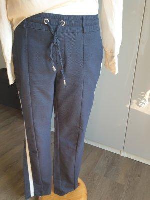 Street One Pantalone fitness bianco sporco-blu scuro