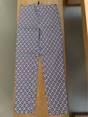Benetton Spodnie materiałowe Wielokolorowy Bawełna