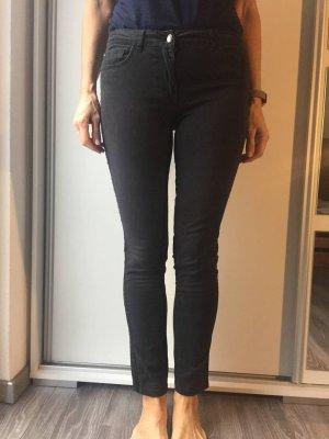 Flame Pantalon cinq poches noir
