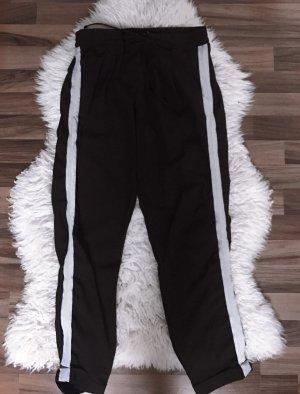 Tally Weijl Pantalone di velluto a coste nero-grigio