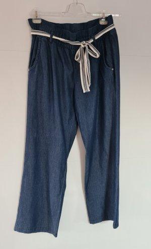 Takko Pantalone jersey blu scuro