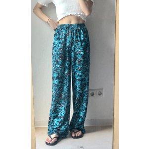 Pantalon «Baggy» bleu cadet