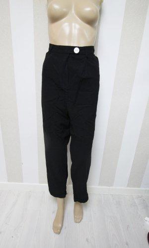 Pantalón tipo suéter negro